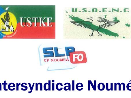 Prison Nouméa : Courrier en Intersyndicale adressé aux représentants et instance de l'état
