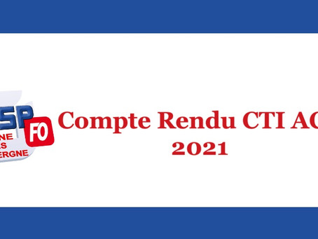 Compte Rendu CTI ACT 2021