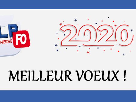 Prison de Fleury-Mérogis : Vœux 2020 !
