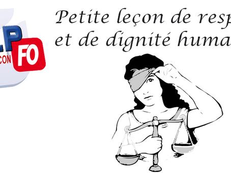 Prison de Besançon : Petite leçon de respect et de dignité humaine !