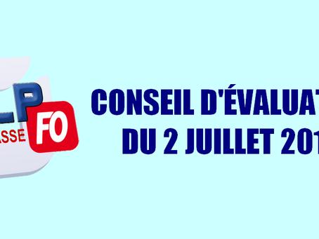Prison de Grasse : Conseil d'évaluation