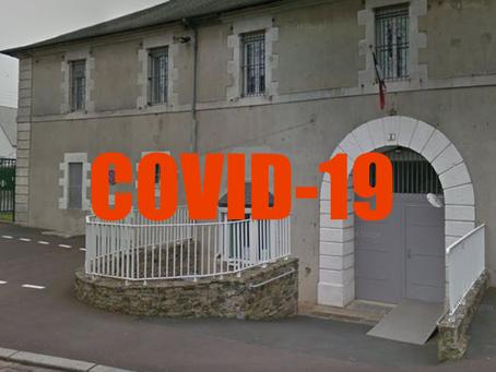 Prison de Coutances : COVID-19