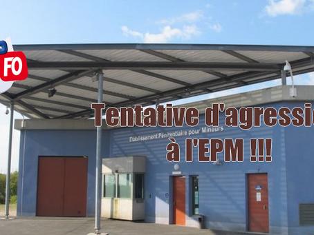 Prison de Porcheville : Tentative d'agression à l'EPM !!!