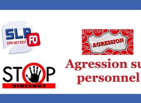 Prison de Meyzieu : Agression sur personnel