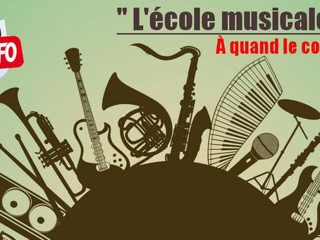 """Prison de Rennes : """" L'école musicale """" À quand le concert ?!"""