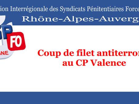 Coup de filet antiterroriste au Centre Pénitentiaire de Valence