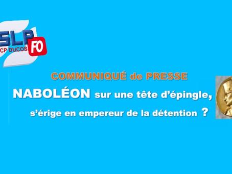 Prison de Ducos : Napoléon sur une tête d'épingle, s'érige en empereur de la détention ?