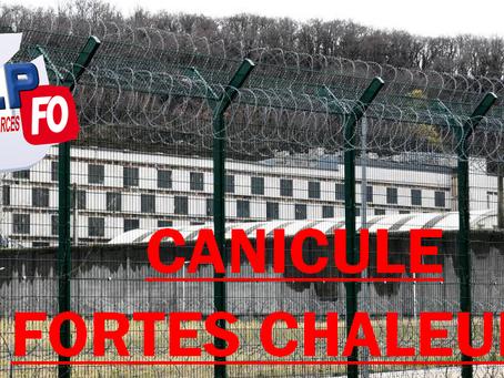Prison de Grenoble-Varces : Canicule, fortes chaleurs