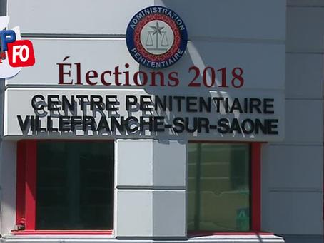 Prison de Villefranche-sur-Saône : Élections 2018