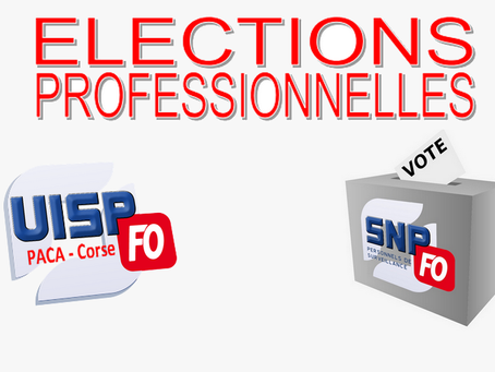 UISP Paca-Corse : Élections professionnelles