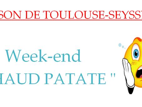 "Prison de Toulouse-Seysses: Week-end "" Chaud patate """