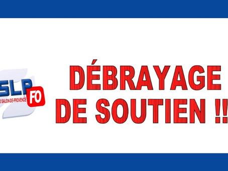 Prison de Salon-de-Provence : Débrayage de soutien !!!