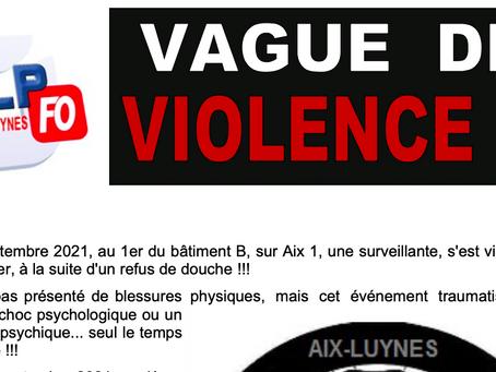 Prison d'Aix-Luynes : Vague de violence !!!