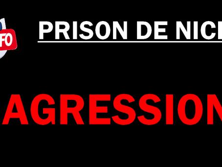 Prison de Nice : Agression