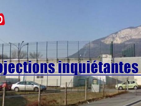 Prison de Bonneville : Projections inquiétantes !!!
