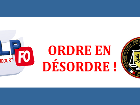 Prison de Liancourt : Ordre en désordre !
