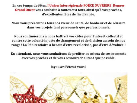 DISP de Rennes : Joyeuses fêtes