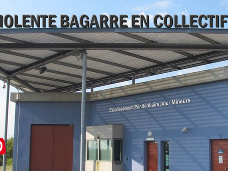 Prison de Porcheville : Violente bagarre en collectif !!!
