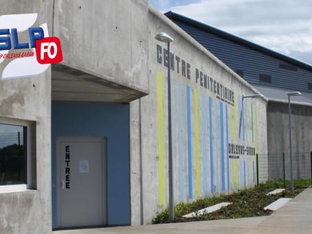 Prison d'Orléans-Saran : Éclaircissement !