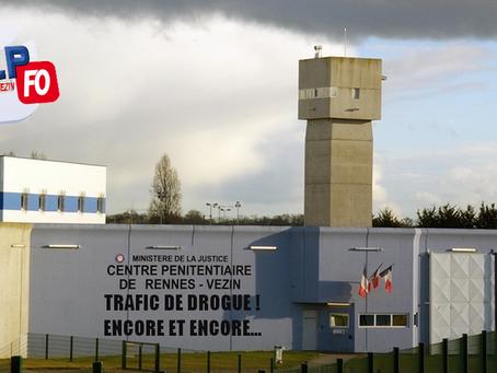 Prison de Rennes-Vezin : Trafic de stupéfiants ! Encore et toujours...