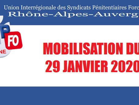 DI de Lyon : Mobilisation du 29 Janvier 2020