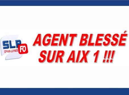 Prison d'Aix-Luynes : Agent blessé sur Aix 1 !!!