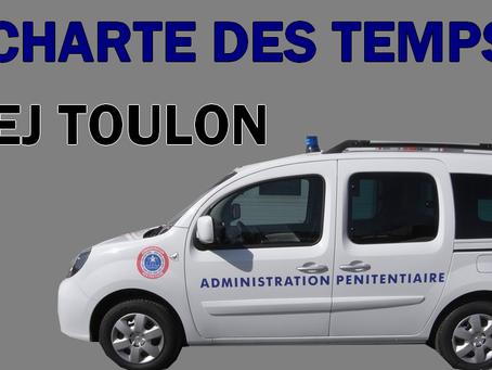 CTS du 16 Mai 2018 : Charte des temps PREJ Toulon