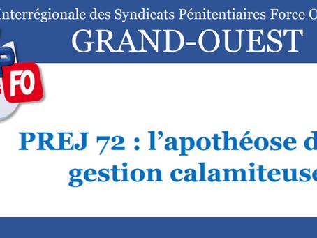 DI de Rennes : PREJ 72, l'apothéose d'une gestion calamiteuse