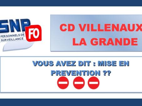 Prison de Villenauxe-la-Grande : Vous avez dit mise en prévention ??