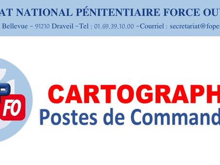 Cartographie postes de Commandant : Lettre ouverte au Directeur de l'Administration Pénitentiaire