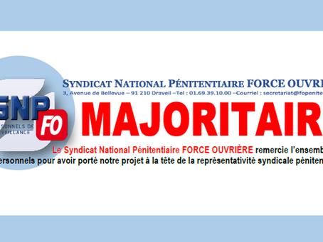 Élections professionnelles 2018 : Le SNPFO Majoritaire