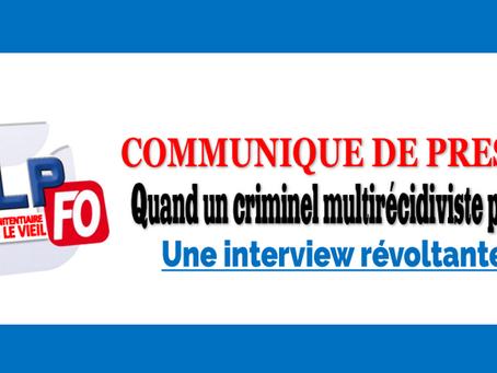 Prison de Vendin-le-Vieil : Quand un braqueur multirécidiviste parle, une interview révoltante !