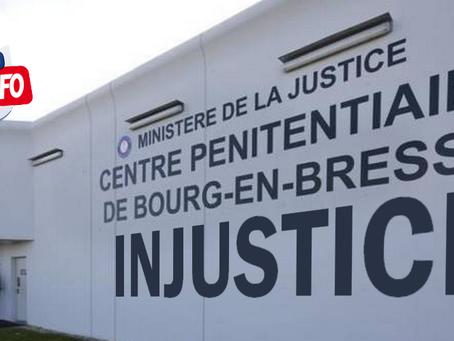 Prison de Bourg-en-Bresse : Injustice !!!