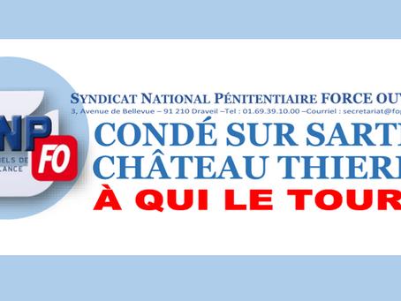 Condé-sur-Sarthe, Château-Thierry : À qui le tour !?