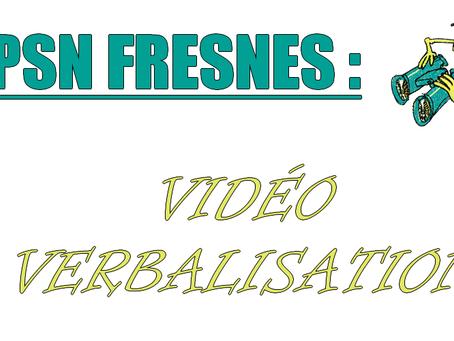 EPSN Fresnes : Vidéo verbalisation