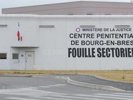 Prison de Bourg-en-Bresse : Fouille sectorielle !