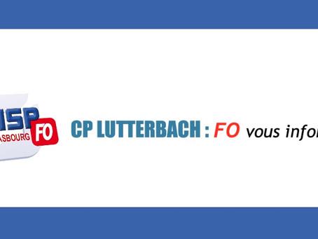 CP Lutterbach : FO vous informe