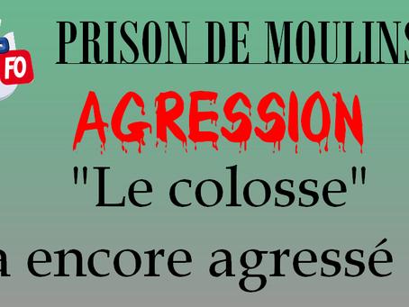"""Prison de Moulins : """"Le colosse"""" a encore agressé !!!"""