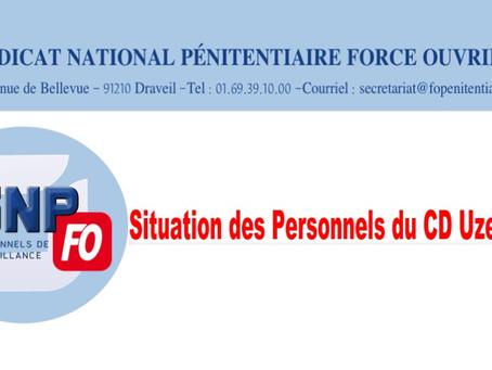 Lettre ouverte au Garde des Sceaux : Situation des personnels du CD Uzerche