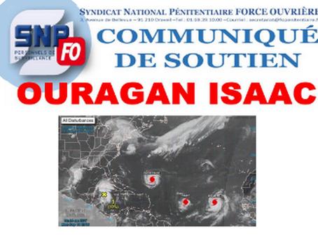 Communiqué de soutien : Ouragan Isaac