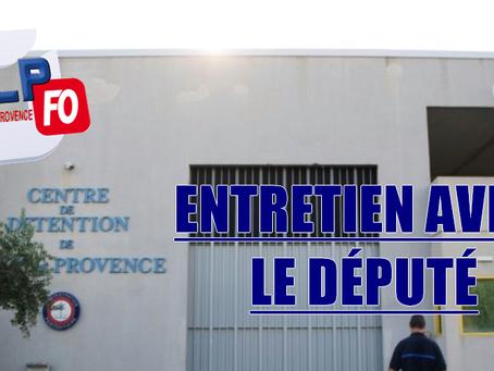 Prison de Salon-de-Provence : Entretien avec le Député