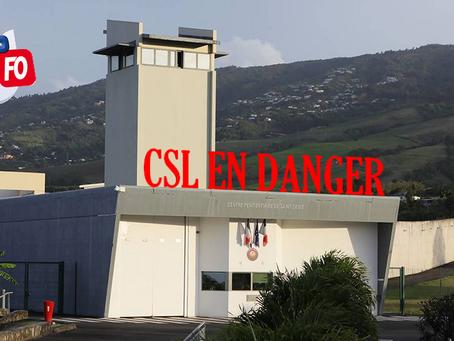 Prison de Saint-Denis-Domenjod : CSL attention danger