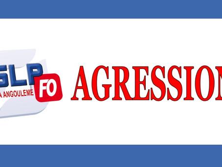 Prison d'Angoulême : Agression