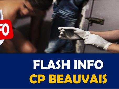 Prison de Beauvais : Opération de sécurité