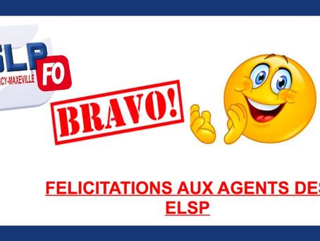 Prison de Nancy-Maxéville : Félicitations aux agents des ELSP