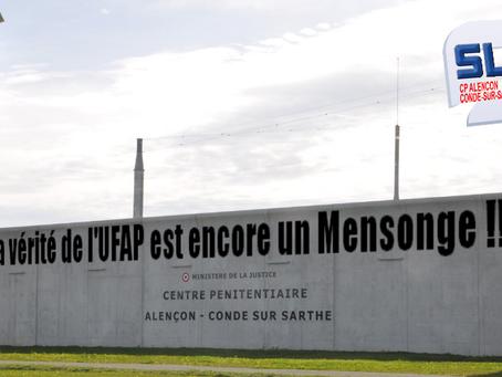 Prison de Condé-sur-Sarthe : La vérité de l'UFAP est encore un Mensonge !!!