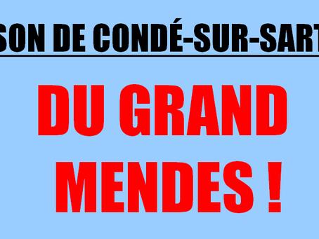 Prison de Condé-sur-Sarthe : Du grand MENDES !