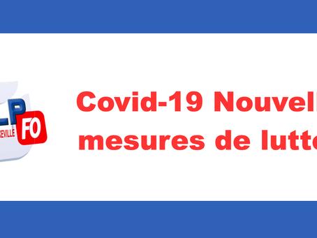 Prison de Nancy-Maxeville : COVID-19 Nouvelles mesures de lutte !!