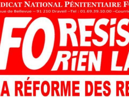 Contre la réforme des retraites : Nouvelle journée d'actions Mardi 10 Décembre