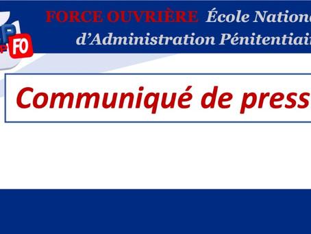 ENAP : Communiqué de presse